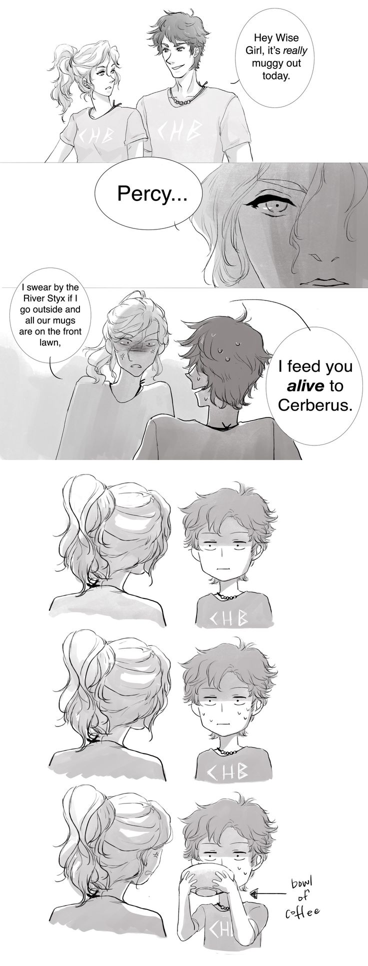 By far the best PJO fan comic I've ever seen XD