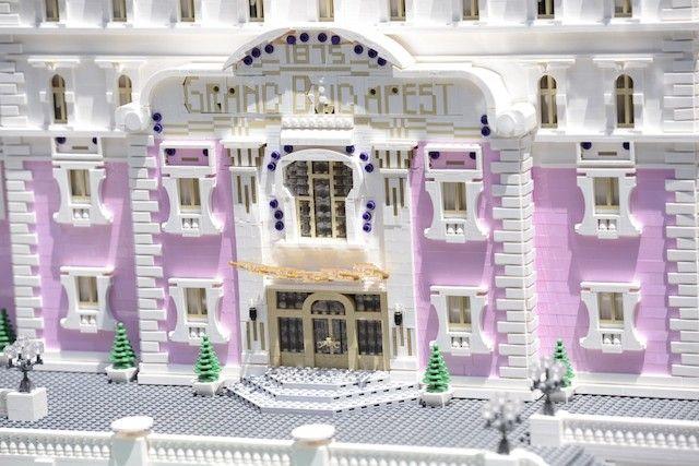 Le Grand Budapest Hotel en Lego