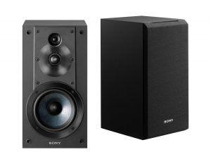 5. Sony SSCS5 3-Way 3-Driver Bookshelf Speaker System