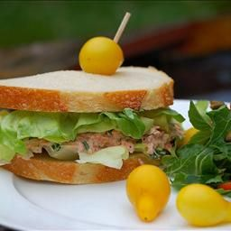 Tangy Lobster Sandwich - I would use fresh lobster rather than canned.