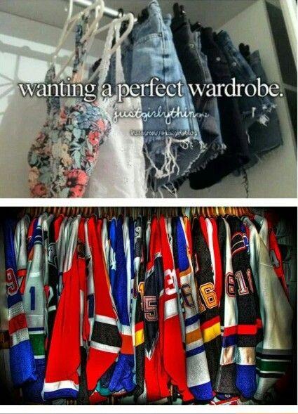 Hockey wardrobe