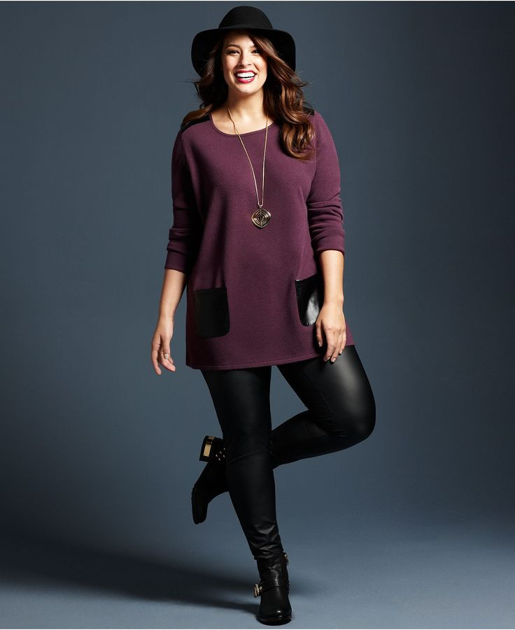 Plus Size Sweater With Leggings