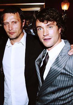 "Mads Mikkelsen & Hugh Dancy - Premiere of ""King Arthur"", June 18, 2004"
