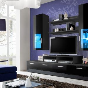 Design For Living Room Wall Unit