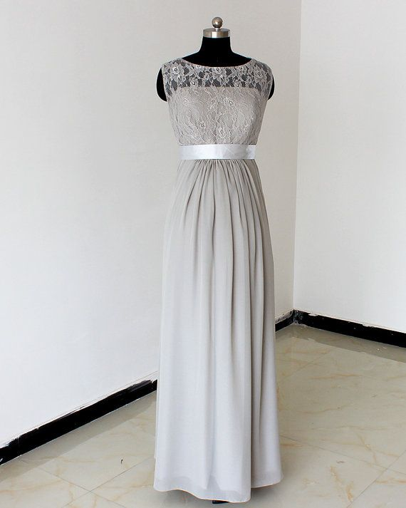 Hey, I found this really awesome Etsy listing at https://www.etsy.com/listing/193538641/maternity-dress-grey-bridesmaid-dress