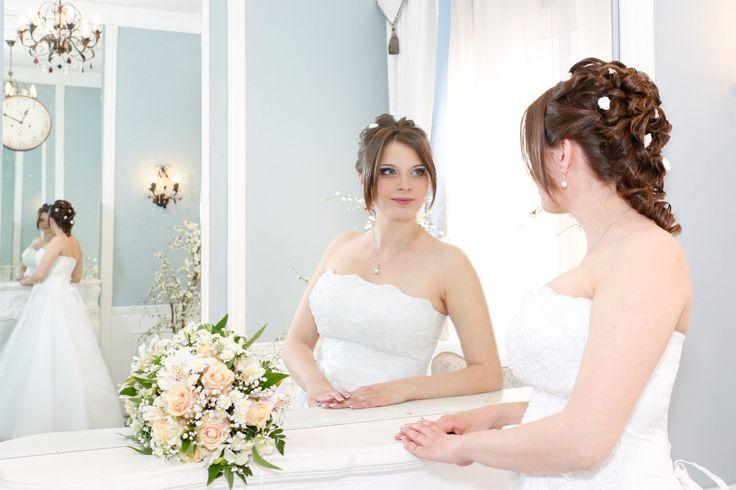 Еще одно зеркало подтверждает - ты прекрасна и твоей красоте под стать -прическа и макияж. Стилист-визажист Субботина Ирина | +7 916 910 56 34 vk.com/stylistnadom