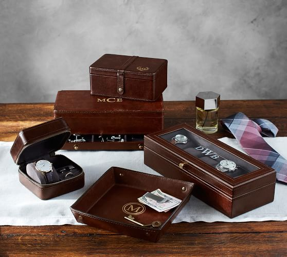 Saddle Leather Jewelry Collection Chocolate