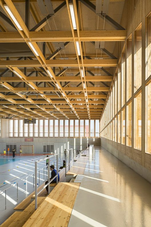 Sports Center in Neudorf,© Sergio Grazia