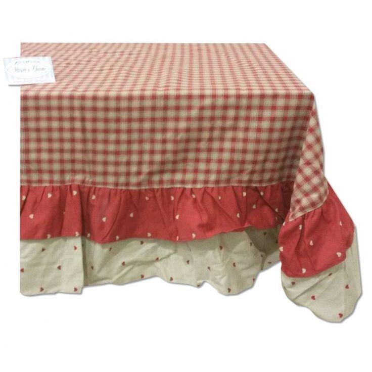 Tovaglia quadri rossi country biancheria cucina tovaglie for Quadri astratti rossi