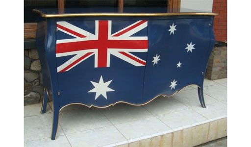 Aussie flag furniture...