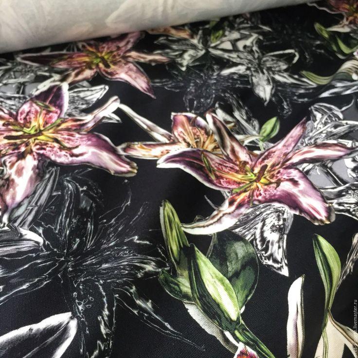 Купить Alta moda пунто милано , Италия - разноцветный, итальянские ткани, ткани для шитья