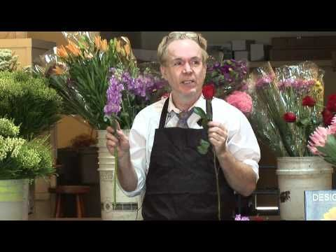 Michael Gaffney: View ALL his videos on YouTube...so informative. Tried & True Formulas for Floral Design