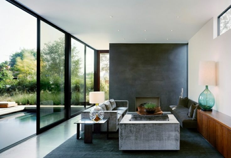 Sala de estar minimalista ideas nuevas para crear for Ambientes minimalistas interiores