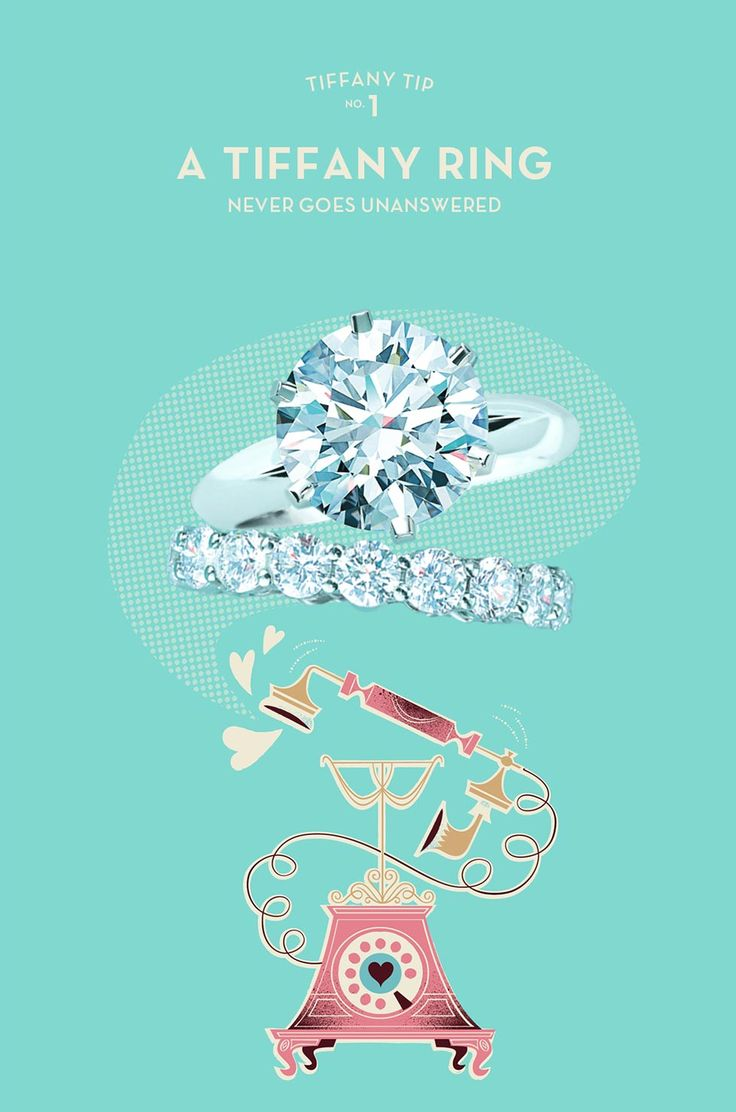 Super cute advertisement. Love the fonts and the hand of the telephone. Home | Tiffany & Co.