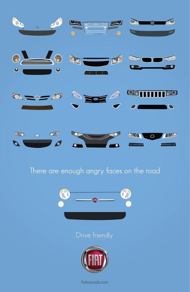Fronts of cars #Fiat #Ad