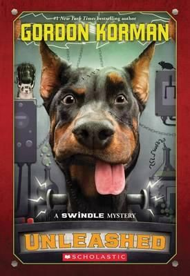 Luthor, a former attack dog, is supposed to be on his best behavior now that he's in the care of Savannah, a girl who's easily a dog's best friend. But every time a certain truck passes by Savannah's house, Luthor goes into attack mode -- and chaos follows.  A runaway dog. Some majorly strange inventions. A mysterious neighbor. A stolen object of great value. These are a few of the ingredients in Unleashed, Gordon Korman's latest Swindle mystery.