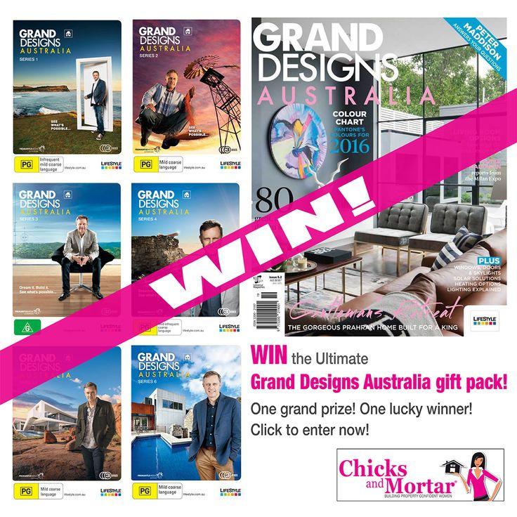 Win a Grand Designs Australia prize pack!