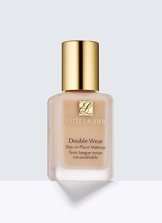 Double Wear, Stay-in-Place Makeup - Long-wearing makeup with 15-hour staying power. Looks flawless and natural. Lasts through heat, humidity, non-stop activity. Feels lightweight, comfortable.  Medium coverage. Natural finish. Oil-free