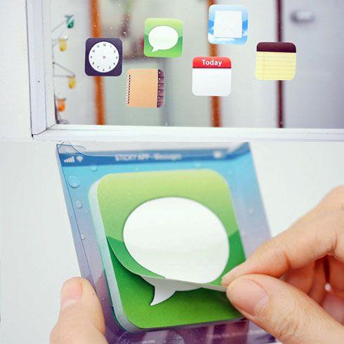 iPhone好きには堪らないアプリアイコンの付箋(ふせん)【Sticky App Notes】