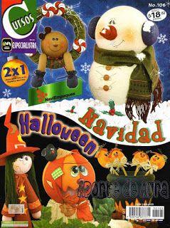 moldes para figuras navideñas foamy