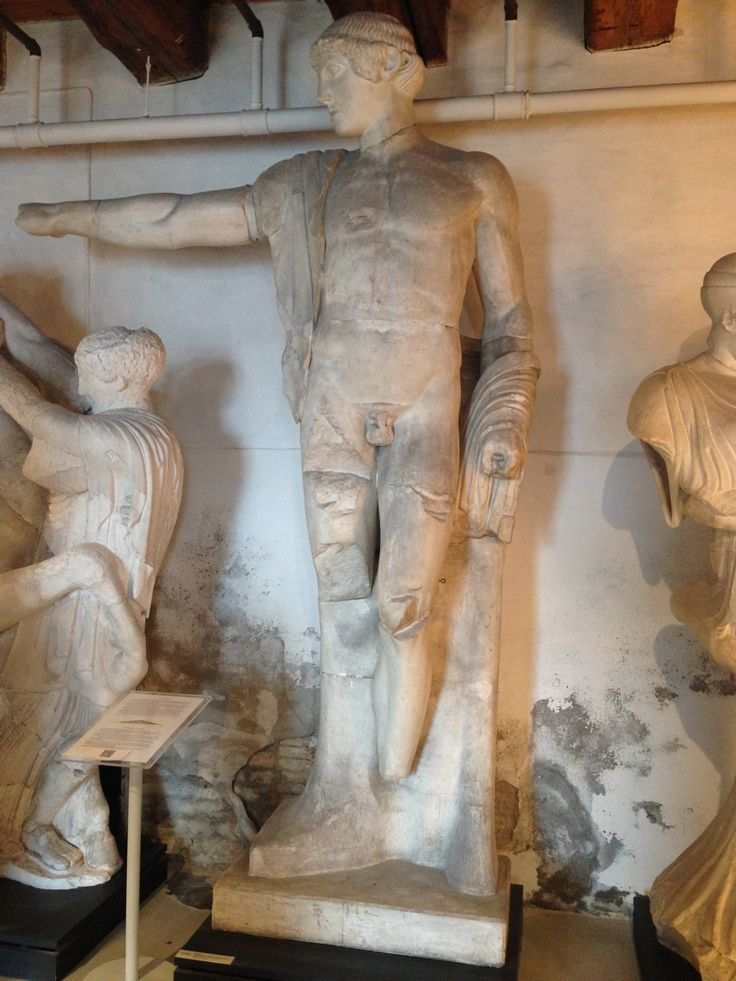Apollon Zeustemplet i Olympia Græsk, klassisk 470-456 fvt.  Olympia, Museet.