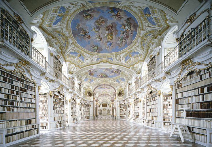 Candida Höfer Beautiful Librairies - Admont, Austria