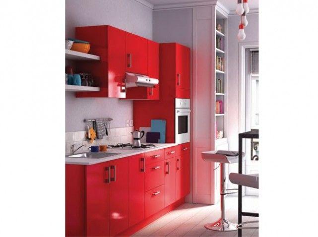 Deco Chambre Loft : cuisine rouge spicy cuisine cat160006 petite cuisine deco cuisine