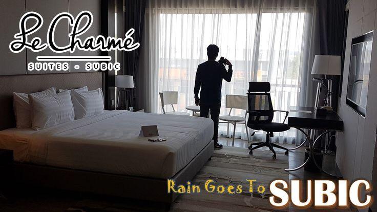 Rain Goes To Subic | Le Charme Suites Subic