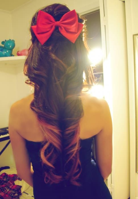So Cute!! ♥ red bow