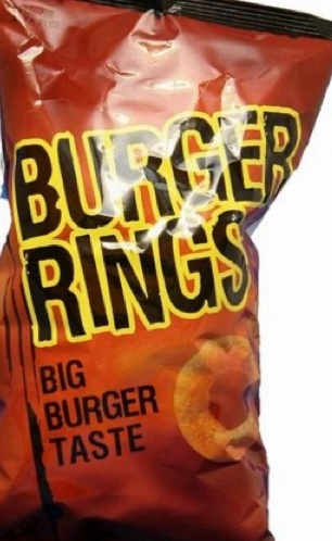 Burger Rings-   this is an odd one. Originating from Australia these are burger-flavoured ring-shaped snacks. They are definitely different, not quite my favourite.