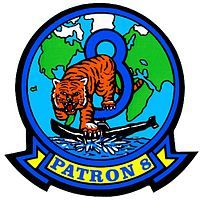 Patrol Squadron Eight (VP-8) is a U.S. Navy land-based patrol squadron that was based at the Naval Air Station Brunswick, Maine, but is now stationed at Naval Air Station Jacksonville, Florida. VP-8 is tasked to undertake maritime patrol, anti-submarine warfare (ASW), and intelligence, surveillance and reconnaissance (ISR) missions.