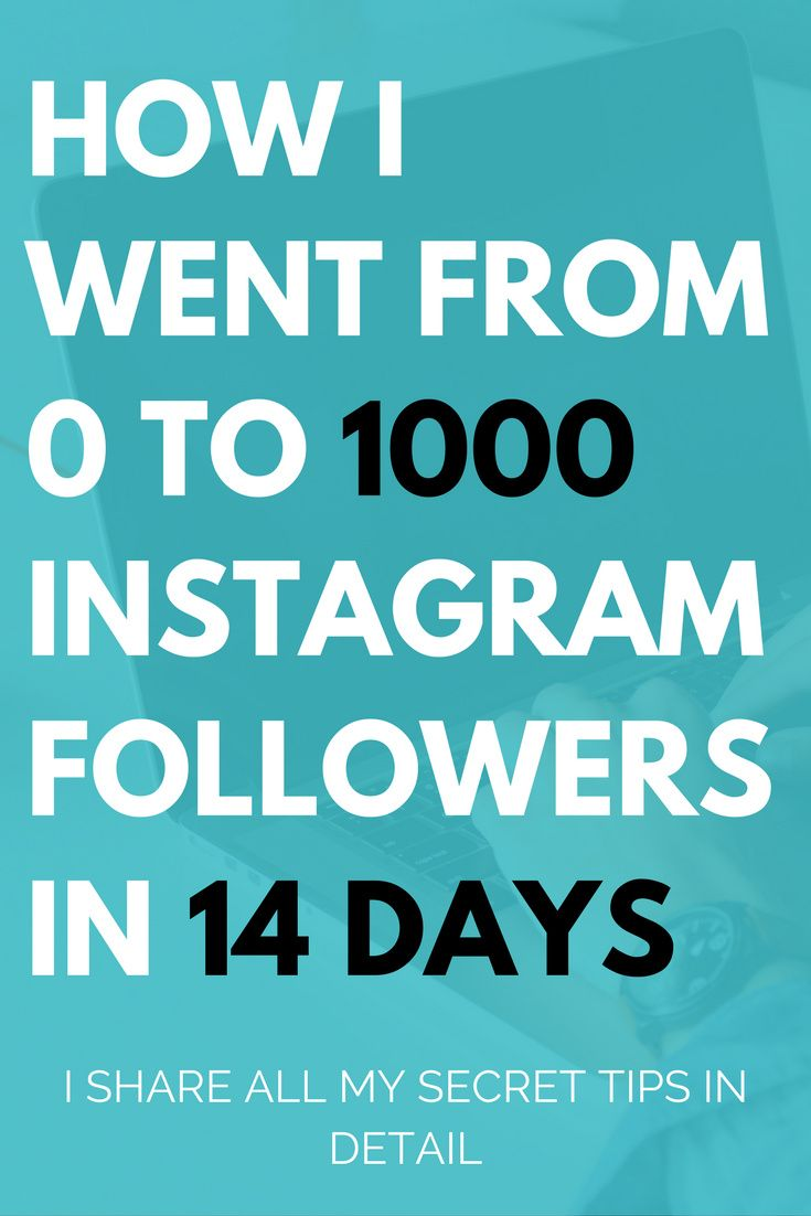 n today's post, I will share the exact methods I have used to grow multiple brand new accounts to 0 to 1000 followers in less than 14 days, without buying any shout outs or bots. The method is 100% manual (can be automated a bit for free) and doesn't req