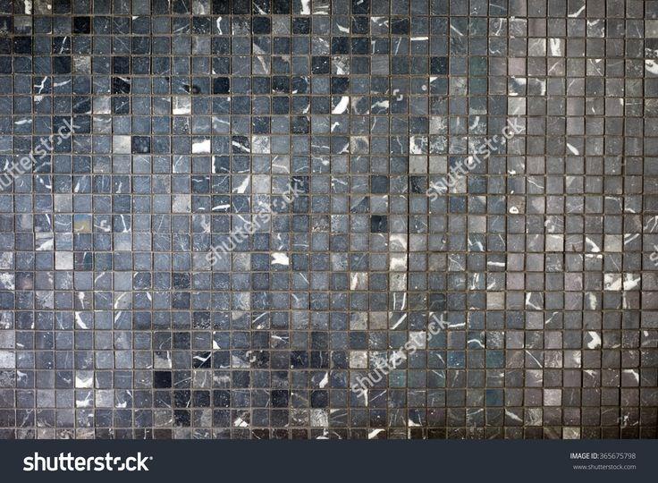 Small Black Grey Mosaic Tiles Стоковые фотографии 365675798 : Shutterstock