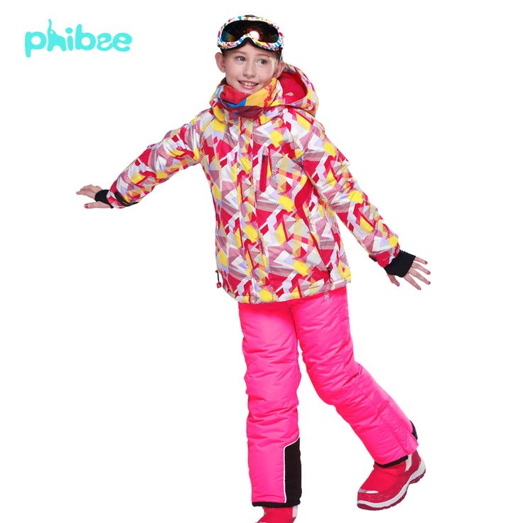 Find More Information about Phibee  Girls Ski Suit Kids Camouflage Ski Jacket Ski Pants Fashion Breathable Waterproof Thermal Snowboard Jacket,High Quality jacket surf,China jackets logo Suppliers, Cheap jacket work from Birch Trade on Aliexpress.com