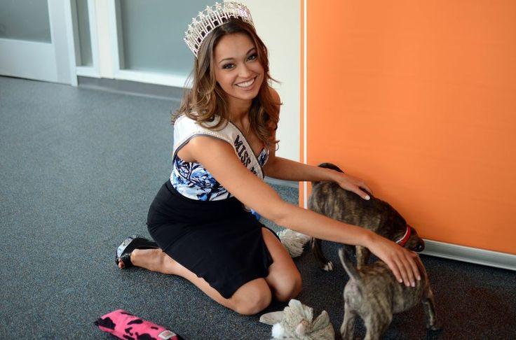 Photo: Miss New York USA Joanne Nosuchinsky at ASPCA's Adoption ...