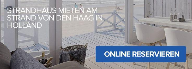 Wollen Sie ein Strandhaus in Holland mieten? 20 neue Strandhäuser, direkt am Strand von Den Haag, mit luxuriöse und geräume Design.