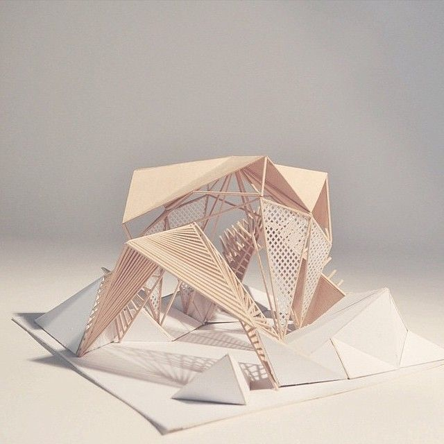 """""""Amazing Shelter Path model by @luisfmnz #archi_students"""""""