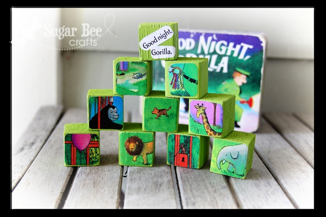 Storyblocks-Goodnight Gorilla (a fun craft tutorial to go along with one of our all-time-favorite books) we love this book. must try it!