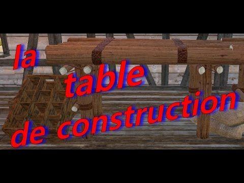 Enjoy Game's: table de construction