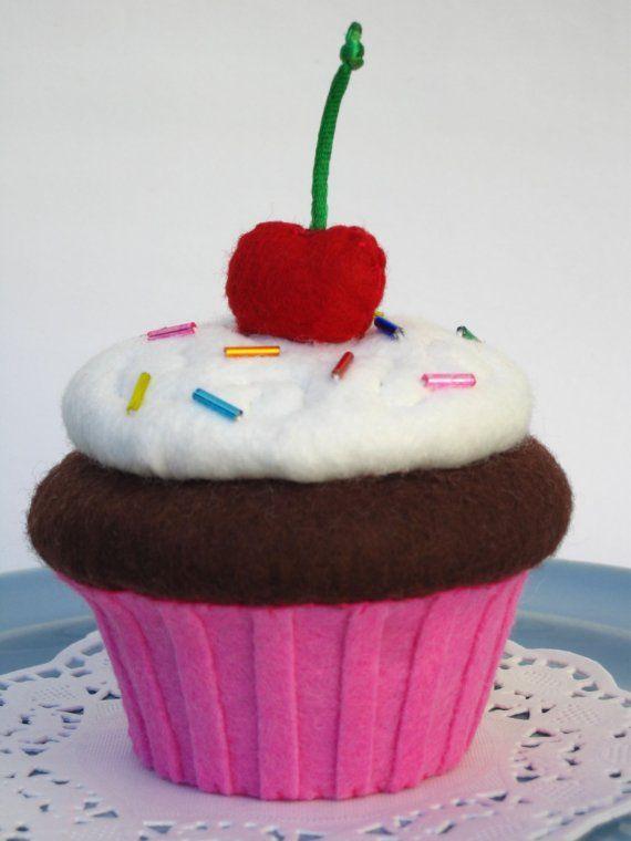 felt Cupcake