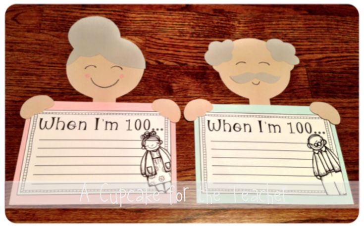 Little 100 Year Olds… perfect for the 100th day of school!