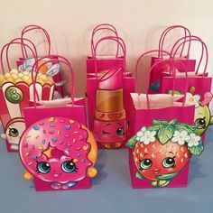 Pin for Later: Everything You Need to Buy For the Ultimate Shopkins Birthday Party  Shopkins party favor bags ($18 per $8).