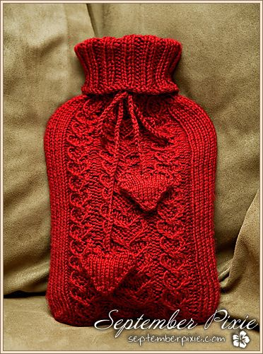 Chunky Knit Scarves Patterns : 25+ best ideas about Hot Water Bottles on Pinterest Water bottle covers, Bo...