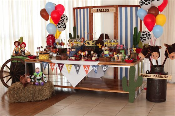 Charming Toy Story party
