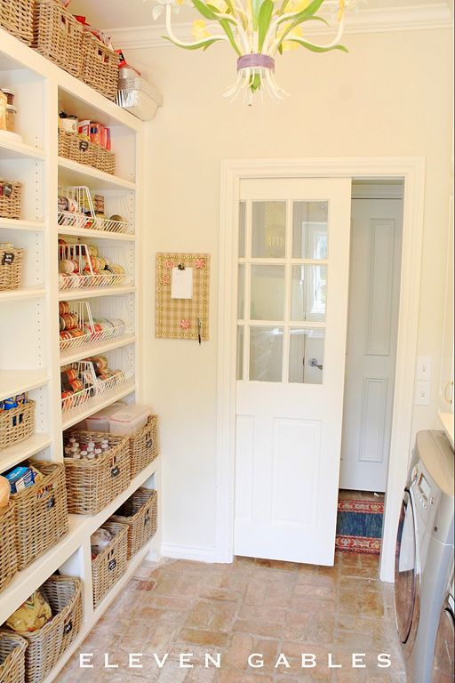 Laundry Room Pantry Combination