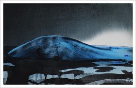 Rutheart: Arctic Light - Watercolour painting by R.T. Brokstad