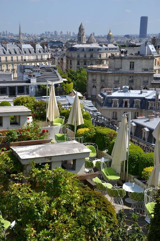 LE TERRASSE AT HOTEL RAPHAEL PARIS, FRANCE