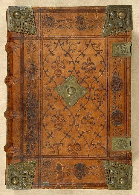 Noctes Atticae, Aulus Gellius, calf binding,1485, Boninus de Boninis, The Morgan Library & Museum
