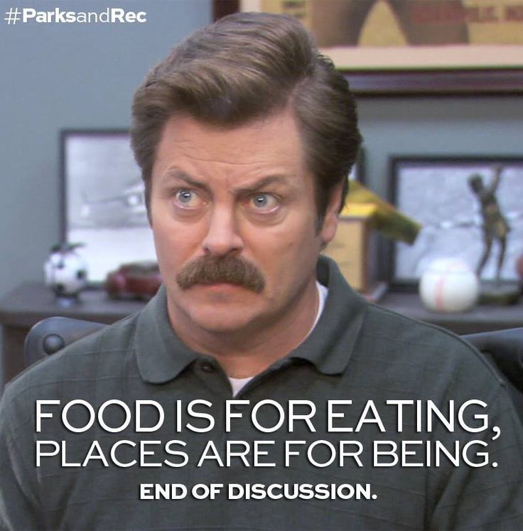 17 best Ron Swanson Love images on Pinterest | The arts ...  Ron Swanson Quotes Salad