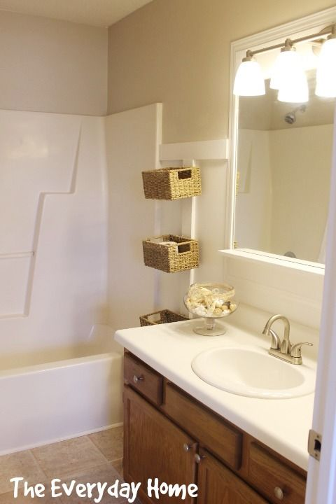 DIY Pottery Barn Inspired Bathroom Mirrors On A Budget How To From